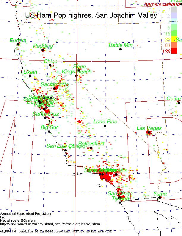 Ne Usa San Joaquin Valley
